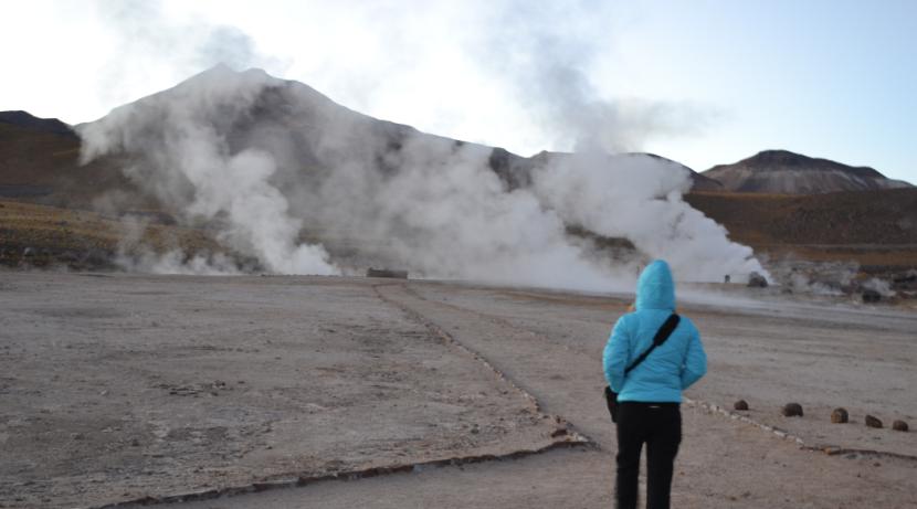 Atacama: Geyser ElTatio